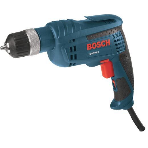 Bosch 3/8 In. 6.3-Amp Jacobs Ratcheting Keyless Electric Drill